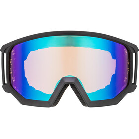 UVEX Athletic CV Gafas, black mat/colorvision blue energy